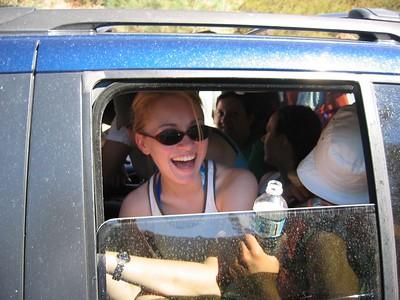 Packing 11 people in a mini-van