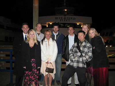 San Fran Boat Cruise/Dance - the group