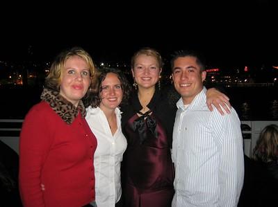 San Fran Boat Cruise/Dance - Brittany, Sara, Star, and Kurt (take 2)