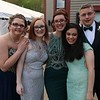 Montachusett Regional Vocational Technical School had their prom at Wachusett Mountain in Princeton on Friday night, May 11, 2018. From left is students Jade Bailey from Athol, Jasmin Guislain from templeton, Elise Saalfrank from Athol, Maya bastian from Sterling and Logan Wing from Athol. SENTINEL & ENTERPRISE/JOHN LOVE
