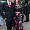 Montachusett Regional Vocational Technical School had their prom at Wachusett Mountain in Princeton on Friday night, May 11, 2018. Students Aaron McCubrey from Sterling and Ciara Rose Hale from Fitchburg enjoy themselves at the prom. SENTINEL & ENTERPRISE/JOHN LOVE