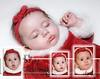 Calli 1st Christmas Montage 11x14