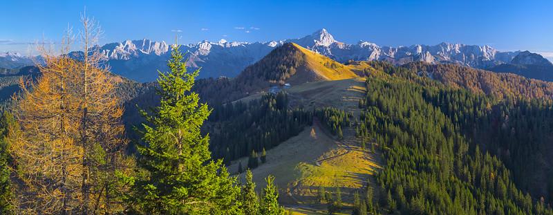 Acomizza e Alpi Giulie dal Gozman - foto n° 091115-514602#