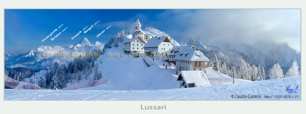 Lussari - Alpi Giulie <br /> <br /> Foto n° 110103-185761