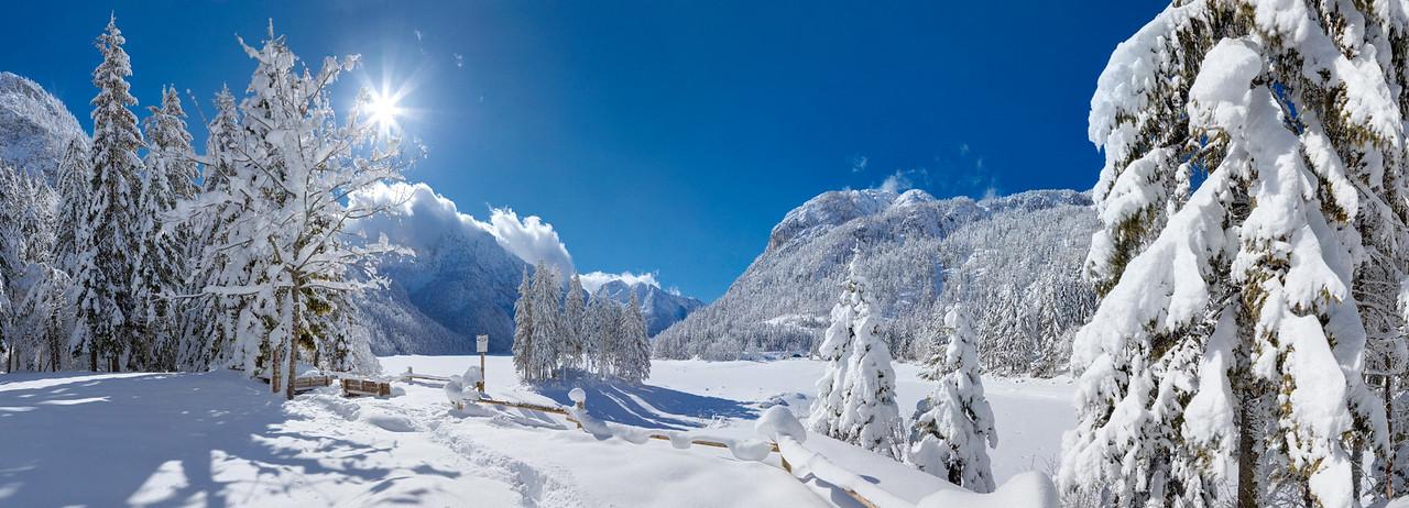 Lago di Raibl / Predil - Val Rio del Lago - Alpi Giulie  Foto Claudio Costerni n. 210210-934672
