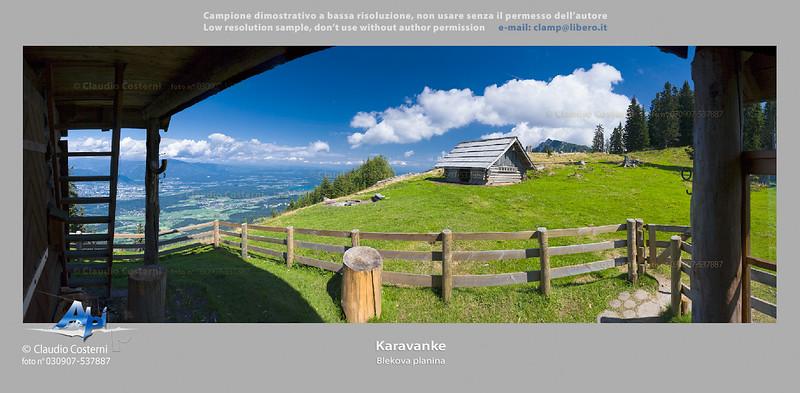 Blekova planina Karavanke  Foto Claudio Costerni n.030907-537887