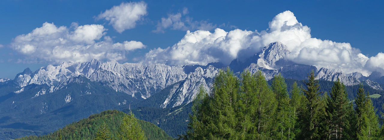 Alpi Giulie viste dalle Casere Mezesnik - foto n° 090911-1351932 SX