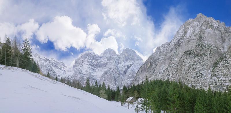 Val Zadnjica sotto il Kanjavec - foto n° 080215-178200