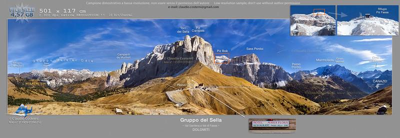 """""""Passo Sella"""" """"Gruppo del Sella"""" """"Sella"""" """"Dolomiti"""" """"Val Gardena"""" """"Val di Fassa"""" """"Hotel Maria Flora"""" """"Sass Pordoi"""" """"Selva"""" """"Marmolada"""""""