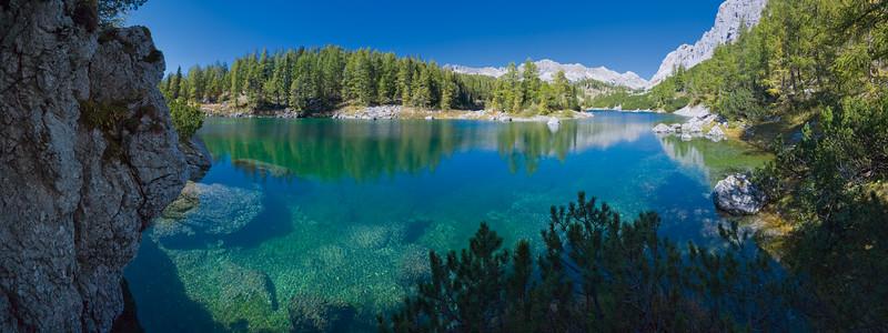 Valle dei 7 laghi del Triglav / Tricorno - Lago Doppio  Foto Claudio Costerni n. 240907-307386
