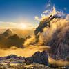 Jof e Modeon del Montasio da Cima di Terrarossa <br /> <br /> Foto n°270804-319297