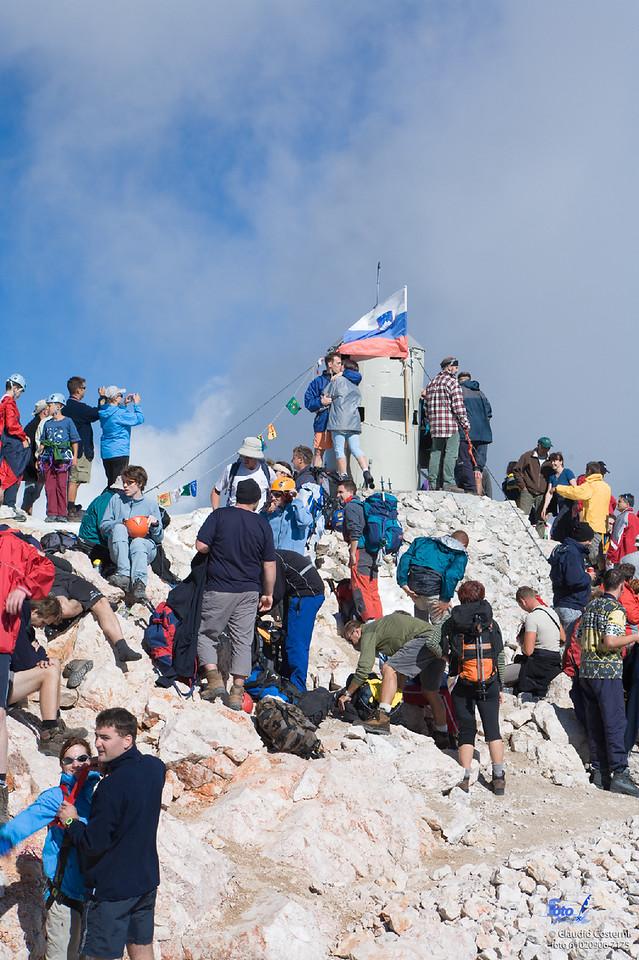 Summit of Triglav / Vetta del Tricorno