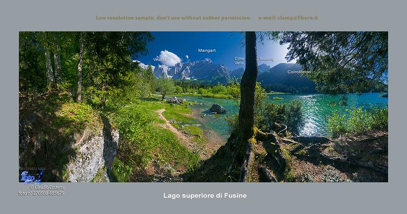 Secondo lago di Fusine - foto n° 270508-885679