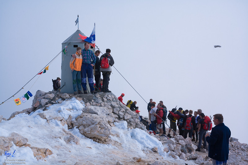 Summit of Triglav / Vetta del Tricorno