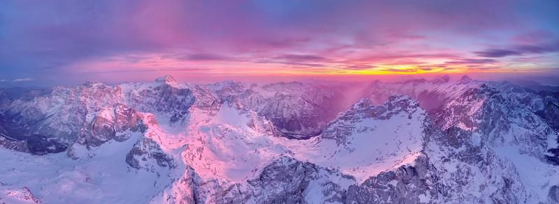 Altopiano Kriški podi (Alpi Giulie orientali)