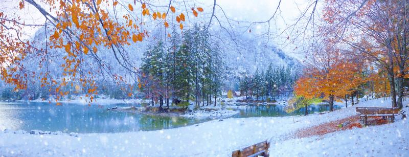 Cima del Lago e Lago di Raibl