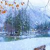 Lago del Predil, neve autunnale - foto n° 261010-277805