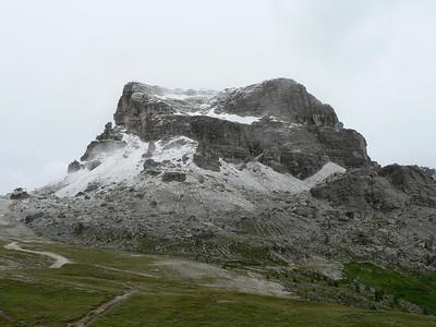 Neve al di sopra dei 2000 m - Averau