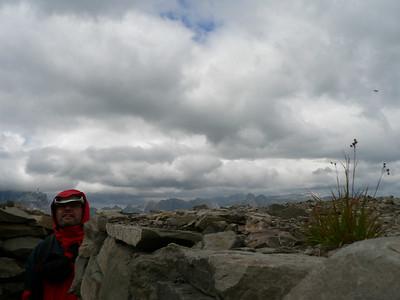 7 agosto sul Sief (per andar sul Col di Lana)