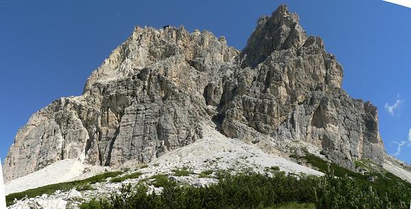 Piccolo Lagazuoi, da Passo Falzarego