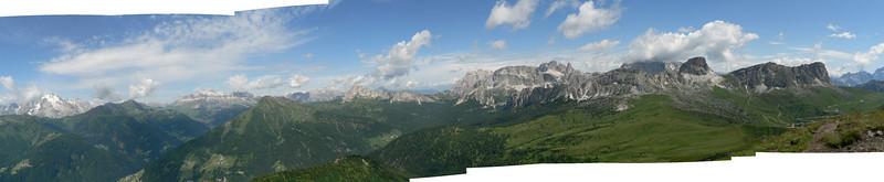 Panorama dal Monte Pore