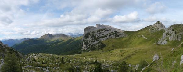Il Col di Lana e Setsass