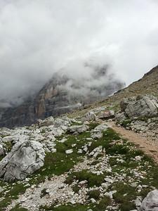 Tofana di Rozes, dietro le nubi