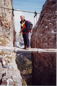 ferrata Tridentina - settembre 2001
