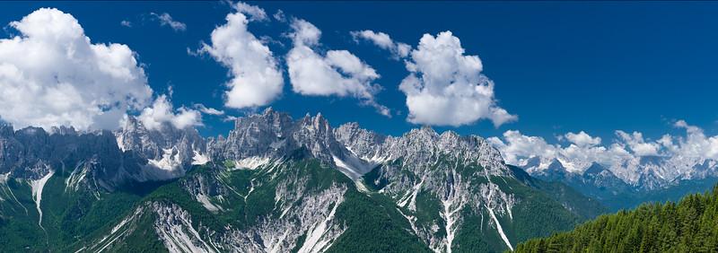 Gruppo Monfalcon-Cridola - Dolomiti Friulane<br /> <br /> Foto Claudio Costerni n. 100708-144399