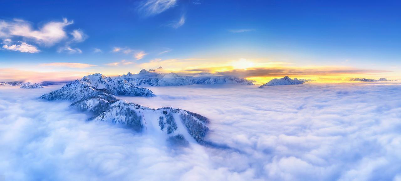Alpi Giulie occidentali con il Lussari - foto n° 091117-000381