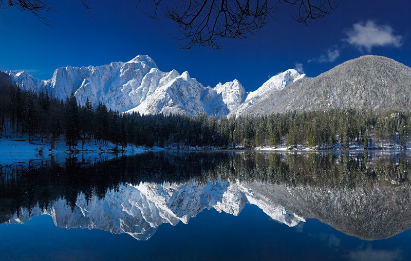Primo lago di Fusine - foto n° 030410-912757