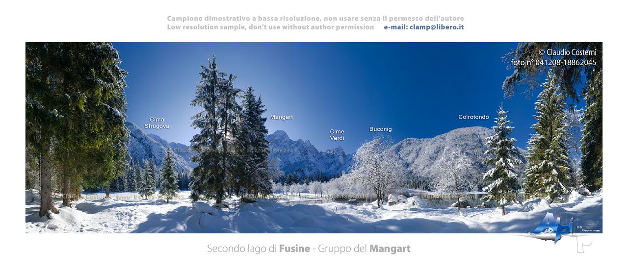 Secondo lago di Fusine - foto n° 041208-18862045
