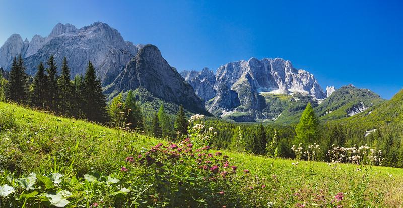 Jof Fuart, Grande e Piccolo Nabois, Montasio - Val Saisera - foto n° 050906-997192