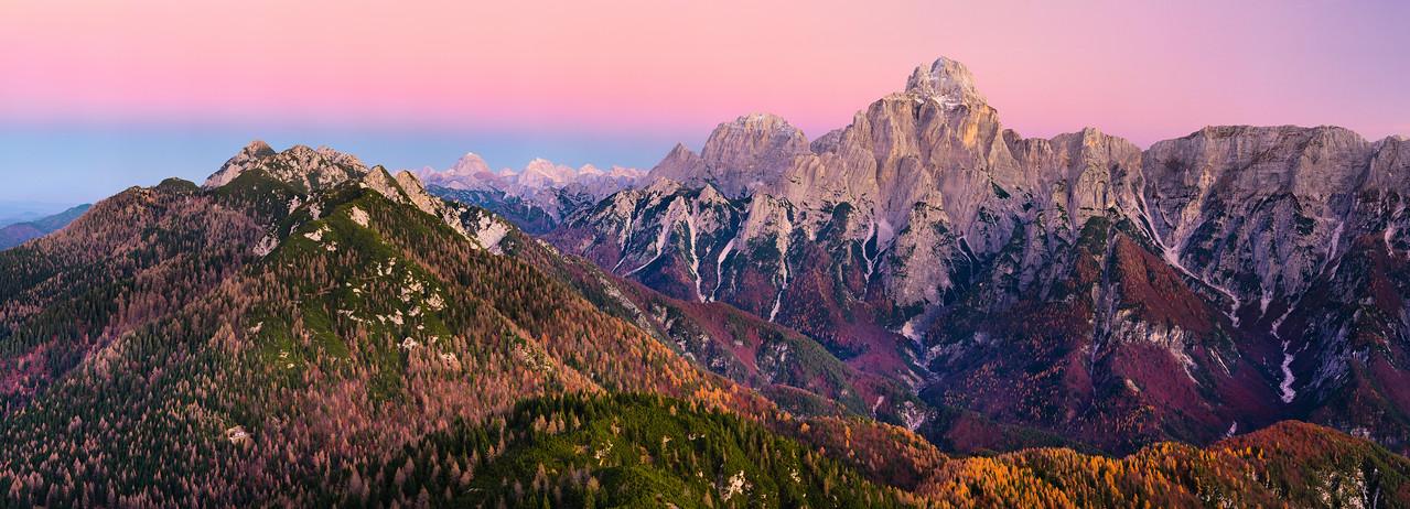 Alpi Giulie dal Clap Jovel - foto n° 111115-22222342