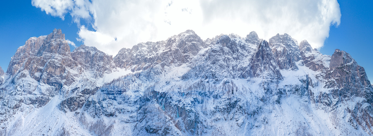 Montasio, versante nord-Spragna - foto n° 200217-040877