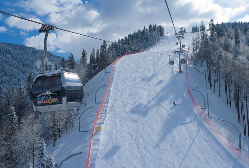 Alpi Giulie- Tarvisio - Funivia del Monte Lussari - Pista Di Prampero 060306-0017