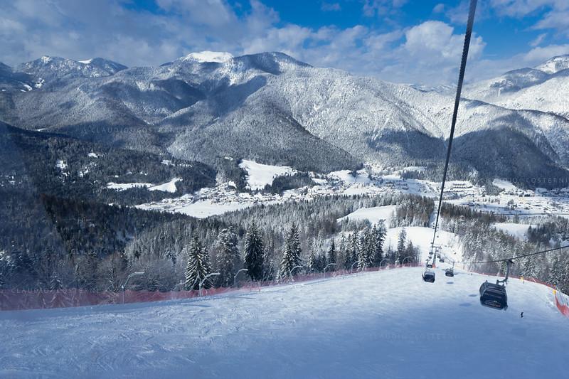 Alpi Giulie <br /> Funivia del Monte Lussari 060306-0049b