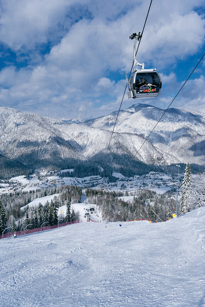 Alpi Giulie <br /> Funivia del Monte Lussari 060306-0309