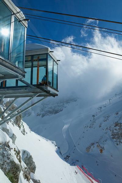 Alpi Giulie - Italia - Funivia del Kanin - vista su Sella Prevala