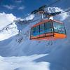 Alpi Giulie - Italia - Funivia del Kanin: Golovec-Sella Nevea - vista sulla Conca Prevala ed il monte Forato