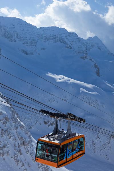 Alpi Giulie - Italia - Funivia del Kanin: Golovec-Sella Nevea