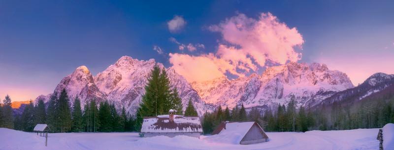 Val Saisera, Nabois, Jof Fuart, Montasio - foto n° 190313-768187