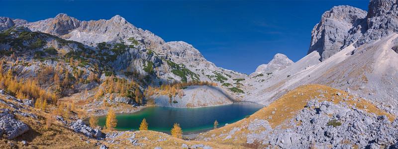 Veliko špičje con il Veliko jezero (Ledvička) - foto n° 131007-135265