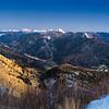 Canale di S. Pietro, Paluzza, Sernio e Alpi Giulie dal Pizzo del Corvo 121107-762944