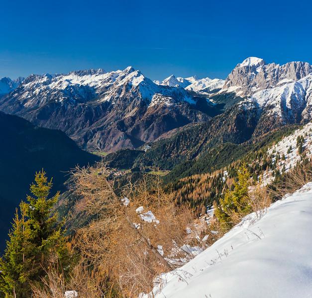 Alpi Carniche e Dolomiti dal Crostis 151107-552955