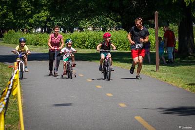Coming to the Finish Line, The Brickhouse 5K, Bike Trail, Turners Falls, MA