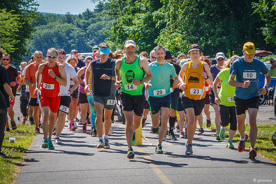 Start, The Brickhouse 5K, Bike Trail, Turners Falls, MA