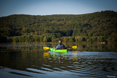 Kayaking on the Connecticut, Turners Falls, MA