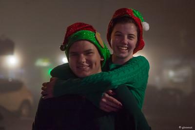 Santa's Helpers, 2015 It's a Wonderful Night, Turners Falls, MA