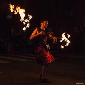 Fire Spinner, 2016 Pumpkinfest, Turners Falls, MA